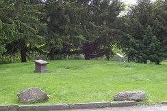 Site of the Joseph Smith home, before its reconstruction