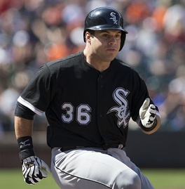 Phegley during his tenure with the Chicago White Sox in 2013