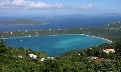 Magens Bay, St. Thomas.