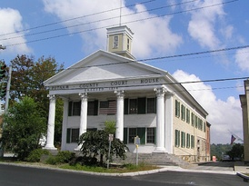 The Historic Putnam County Courthouse (1814) in Carmel