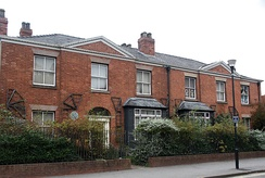The WSPU was founded at Pankhurst's home on 62 Nelson Street, Manchester in 1903. The Grade II* Victoria Villa is now home to the Pankhurst Centre.