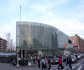 A branch of the Queens Library in Flushing.