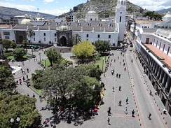 The historic center of Quito has one of the largest and best-preserved historic centers in the Americas.[80] The city also houses a large number of museums.