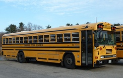 A Scarborough school bus