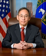 "Steven Chu (B.A., B.S. 1970), recipient of the 1997 Nobel Prize in Physics ""for development of methods to cool and trap atoms with laser light"" and 12th United States Secretary of Energy"