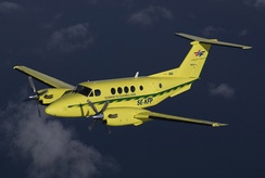 The Beech King Air and Super King Air are the most-delivered turboprop business aircraft, with a combined 7,300 examples as of May 2018[33]