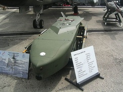 A Taurus KEPD 350 cruise missile of the German Luftwaffe.