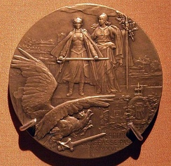 French commemorative medal for the battle