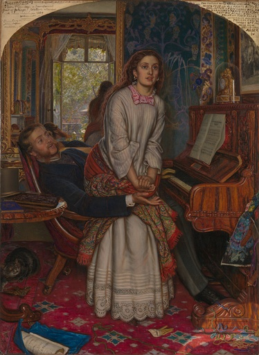 Holman Hunt's The Awakening Conscience (1853)