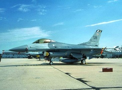 F-16C Block 42F Fighting Falcon 89-2098 about 2000 at Shaw AFB