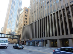 Today renovated past recognition, 510 Marquette was the first headquarters of the bank