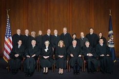 The judges of the Federal Circuit as of 2016