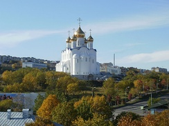 Cathedral of the Holy Trinity in Petropavlovsk-Kamchatsky
