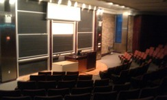Lecture Hall at Warren Weaver Hall