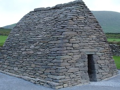 Gallarus Oratory near Dingle, which dates back to the 6th century.