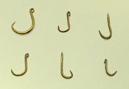 The Muisca were fishermen and caught the fish of the many lakes and rivers of the Altiplano using golden hooks