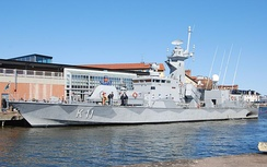 HSwMS Stockholm (PC-11), a Stockholm-class corvette with the Royal Swedish Navy