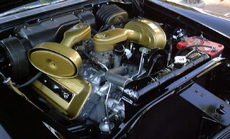 Early Hemi in a 1957 Chrysler 300C