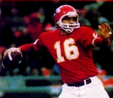 Len Dawson led the Chiefs to victory in Super Bowl IV and was inducted into the Pro Football Hall of Fame in 1987