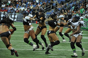 Los Angeles Temptation vs Seattle Mist in Action in Los Angeles – May 4, 2013