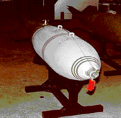 An American-made MC-1 gas bomb