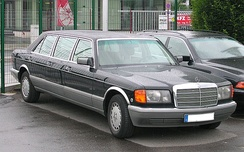 Mercedes-Benz W126 six-door stretch limousine