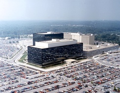 NSA headquarters in Fort Meade, Maryland