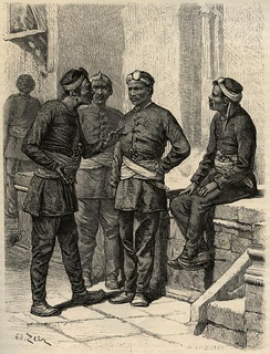 Nepali soldiers of British India, by Gustave Le Bon, 1885.
