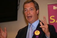 UK Independence Party leader Nigel Farage stood in the South Thanet constituency.