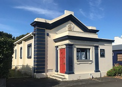 Theosophical Hall in Palmerston North, New Zealand