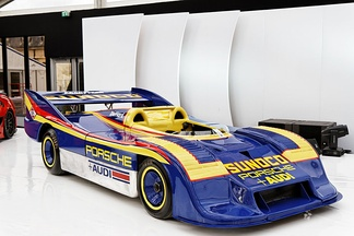 The Porsche 917/30 carried Mark Donohue to the 1973 championship.