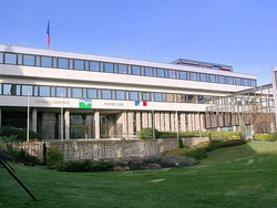 The departmental council and prefectural building in Saint-Brieuc