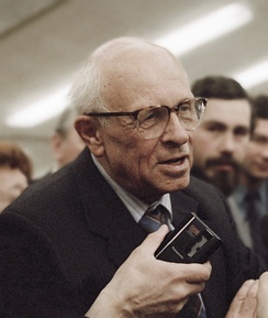 Andrei Sakharov, formerly exiled to Gorky, was elected to the Congress of People's Deputies in March 1989.