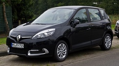 Renault Scenic, awarded Car of the year in Europe in 1997 and the first[64] car to be marketed as a compact MPV, is the most popular MPV in Europe for 20 years.[64]