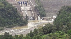 The Reventazón Dam has come under criticism recently for the loss of habitat it has caused for many species