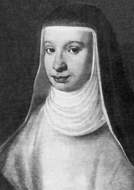 Galileo's beloved elder daughter, Virginia (Sister Maria Celeste), was particularly devoted to her father. She is buried with him in his tomb in the Basilica of Santa Croce, Florence.