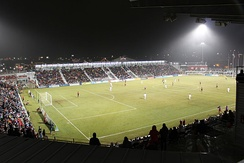 Toyota Field during Soccer Bowl 2014