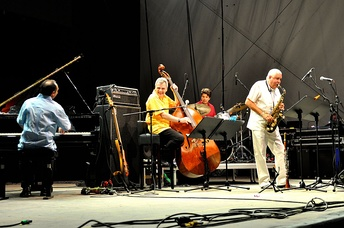 Paquito D'Rivera with the Trio Corrente 2015 at the Horizonte world music festival at Ehrenbreitstein Fortress