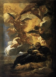 The Vision of St. Francis Xavier, by Giovanni Battista Gaulli