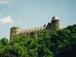 Wewelsburg Castle, which Himmler adopted as an SS base on the advice of the occultist Karl Maria Wiligut