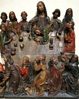 Last Supper, sculpture