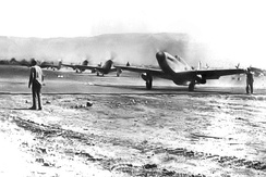 31st Fighter Group P-51s at San Severo Airfield