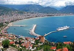 Most of the beach resorts in Turkey are located in the Turkish Riviera.