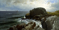 Castle Rock Marblehead, Alfred Thompson Bricher