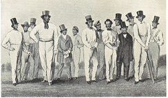 The All-England Eleven in 1846