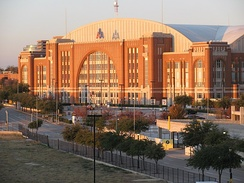 The American Airlines Center is the second, and current home arena used by the Dallas Stars.