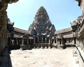 Верхняя галерея Ангкор-Вата.