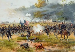 The Battle of Antietam, the Civil War's deadliest one-day fight.