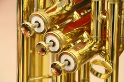 Brass instrument piston valves