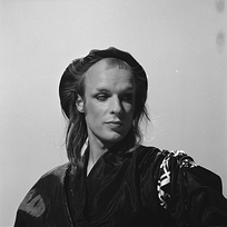 Brian Eno in the 1970s